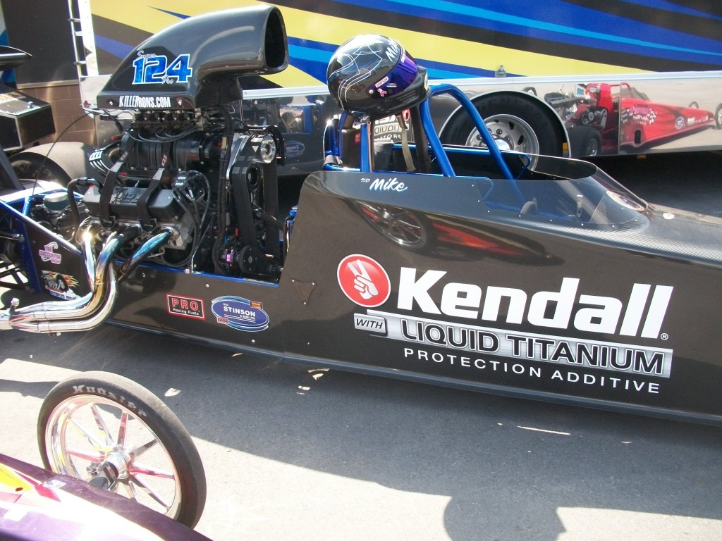 Mike Ogilvie's Kendall dragster